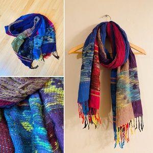 Gorgeous unique cotton scarf